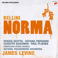 James Levine Bellini Norma (2 CD) Серия: The Sony Opera House инфо 3833h.