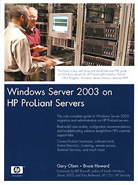 Windows Server 2003 on HP ProLiant Servers Издательство: Prentice Hall Ptr, 2003 г Мягкая обложка, 1150 стр ISBN 0-13-146758-1 инфо 13636h.