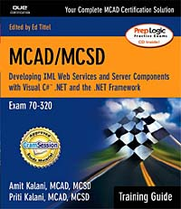MCAD/MCSD Developing XML Web Services and Server Components with Visual C# NET and the NET Framework (+ CD-ROM) Серия: Training Guide инфо 13642h.